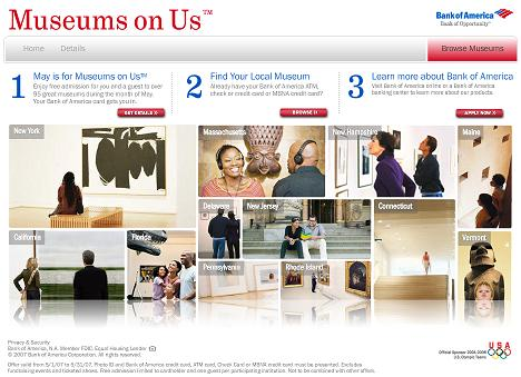Bank of America -- Museums on Us