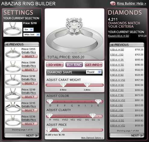 Abazias Ring Builder
