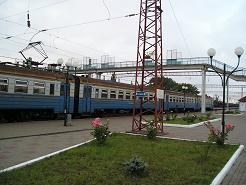 Train in Ukraine