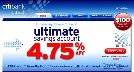 Citibank Ultimate Savings Promotion